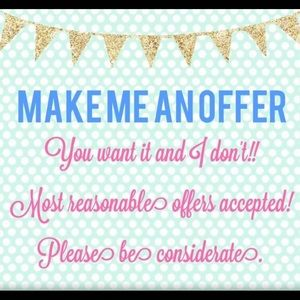 make an offer! 💗